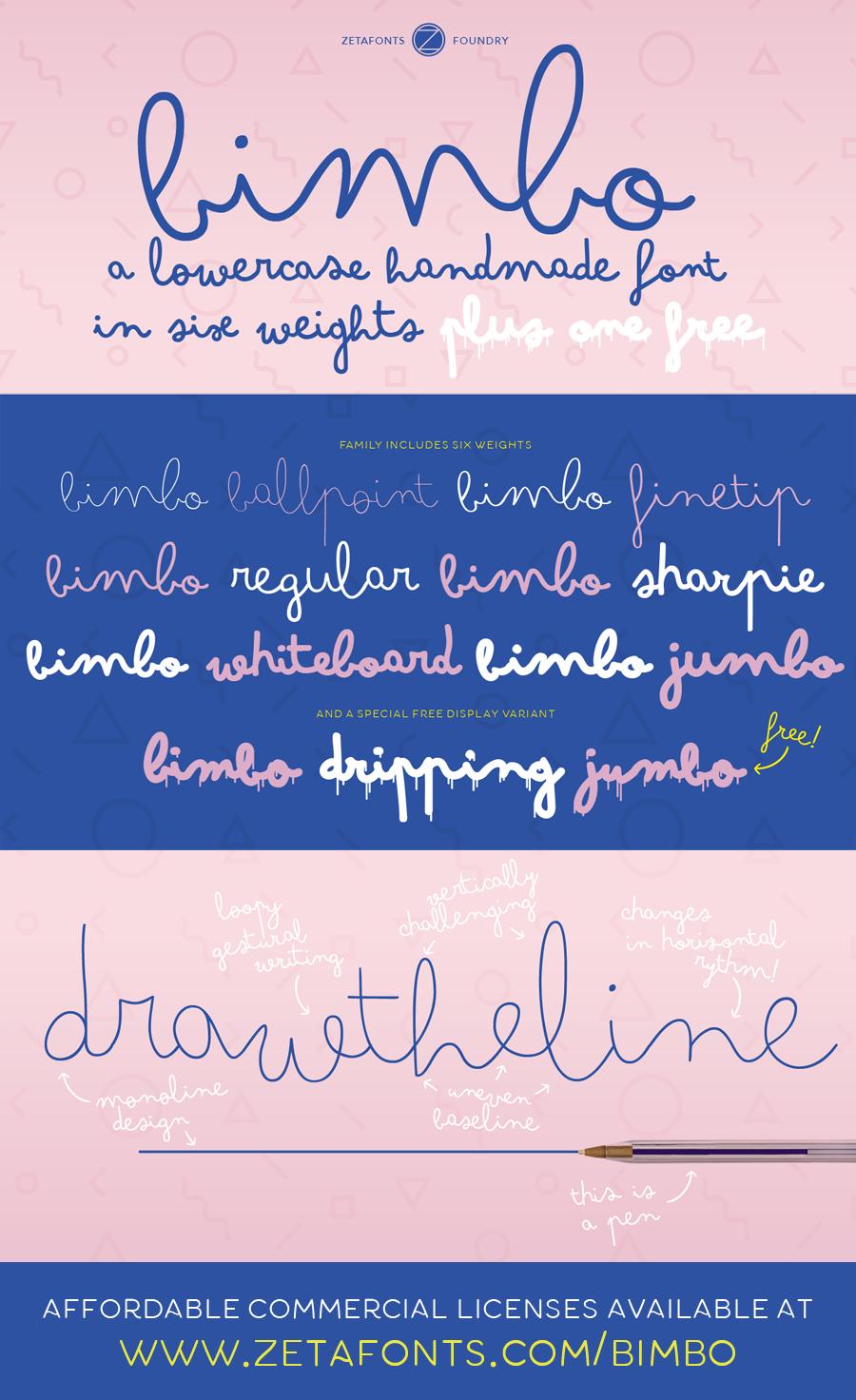 Bimbo font free download - FreeFontsPro com
